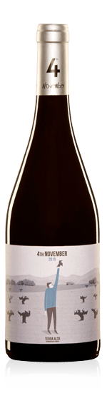 vin Altavins 4 de Noviembre Tinto 2016 Garnacha