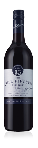 vin Andrew McPherson's The Full Fifteen 2016 Ruby Cabernet