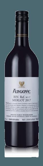 Angove Merlot 2017 Merlot 100% Merlot South Australia