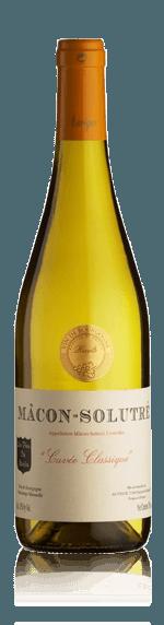 vin Auvigue Macon Solutre Cuvée Classique 2017 Chardonnay