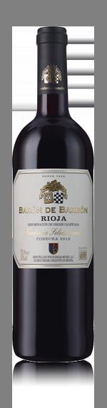 vin Barón de Barbón Rioja 2015 Tempranillo