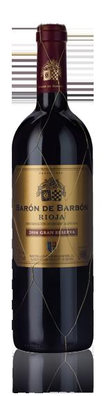 vin Barón de Barbón Gran Reserva Rioja 2006 Tempranillo