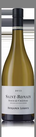 vin Benjamin Leroux St-Romain 'Sous Le Chateau' 2015 Chardonnay