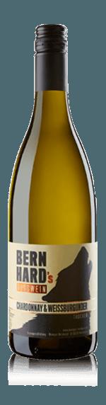 vin Bernhard Chardonnay + Weissburgunder trocken 2017 Chardonnay