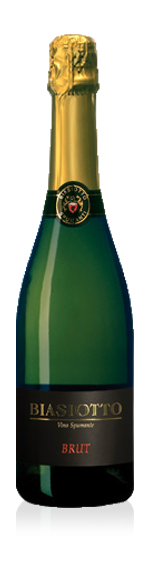 Biasiotto Spumante Brut Chardonnay 100% Chardonnay Venetien
