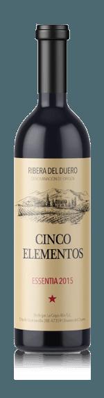 vin Bodegas Cepa Alta Cinco Elementos Essentia 2015 Tempranillo