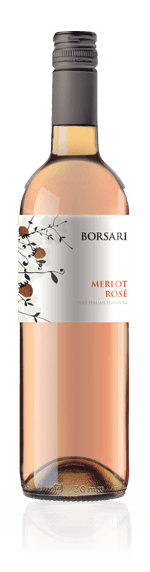 Borsari Merlot Rosato 2017