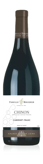 Bougrier Collection Chinon AOP 2017 Cabernet Franc 100% Cabernet Franc Loire