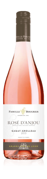 Bougrier Collection Rosé D´Anjou Aop 2017 Gamay 50% Gamay, 50% Grolleau Loire