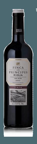 vin Burgo Viejo Finca Los Principes Tinto 2017 Tempranillo