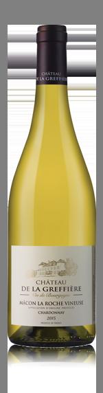 vin Château de la Greffière La Roche Vineuse 2015 Chardonnay