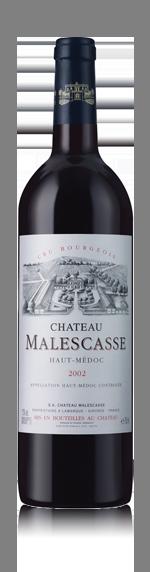 vin Château Malescasse Haut-Médoc Cru Bourg 2002 Cabernet Sauvignon