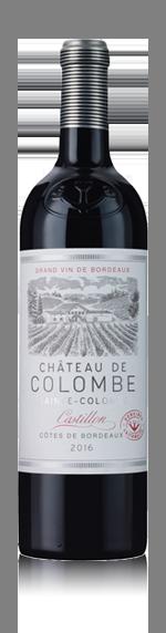 vin Château De Colombe 2016 Merlot
