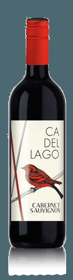 Ca' del Lago Cabernet Sauvignon 2018 Cabernet Sauvignon 85% Cabernet Sauvignon, 15% andra lokala druvor Lombardiet