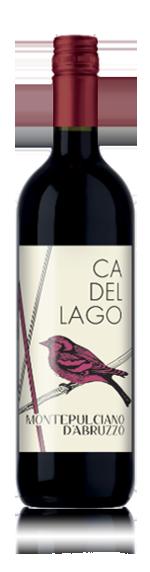 vin Ca' del Lago Montepulciano d'Abruzzo 2017 Montepulciano