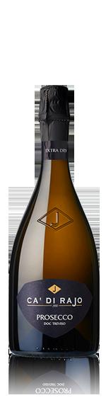 vin Ca' di Rajo Prosecco Spumante Extra Dry Magnum Glera