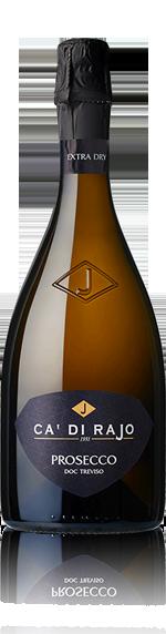 vin Ca' di Rajo Prosecco Spumante Extra Dry Piccolo NV (187 ml) Glera