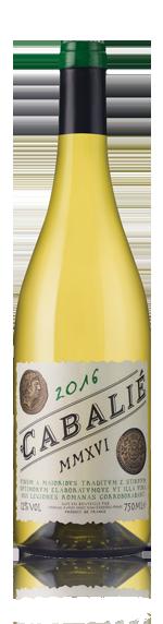 vin Cabalié Blanc 2016 Viognier