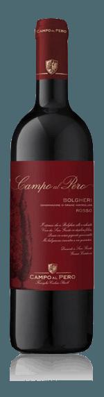 Campo al Pero Bolgheri Rosso 2016 Cabernet Sauvignon Cabernet Sauvignon, Cabernet Franc, Merlot Toscana