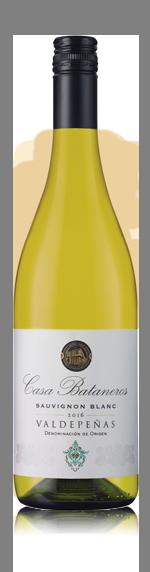 vin Casa Bataneros Sauv Blanc Valdepenas 2016 Sauvignon Blanc