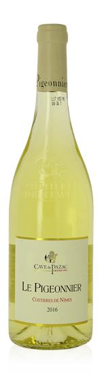 Cave de Pazac Le Pigeonnier Blanc 2017 Grenache Blanc 60% Grenache blanc, 40% Vermentino ou Rollo Rhônedalen