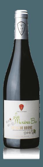 vin Cave de Visan Les MURIERES Bio Red 2016 Grenache
