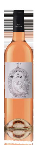 vin Château De Colombe Bordeaux Rose Aoc 2016 Cabernet Sauvignon