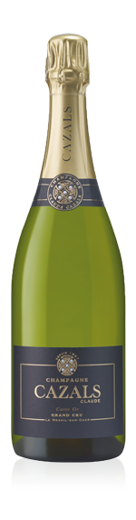 vin Champagne Cazals Carte Or Grand Cru NV Chardonnay