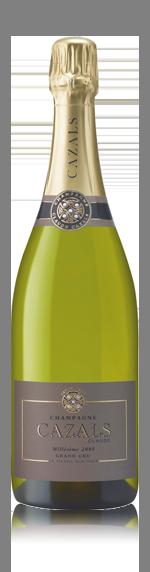 vin Champagne Cazals Millésime 2008 Chardonnay