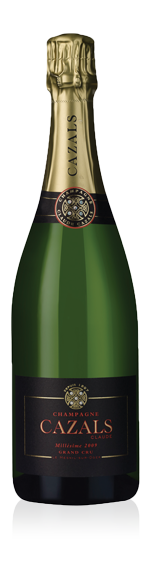 Champagne Cazals Millésime 2009