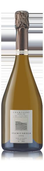 vin Champagne Clos Cazals Grand Cru 2005 Chardonnay