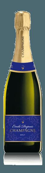 vin Champagne Emile Dupuis Brut NV Chardonnay
