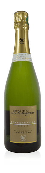 vin Champagne JL Vergnon Conversation Grand Cru Brut NC 375 ml Chardonnay