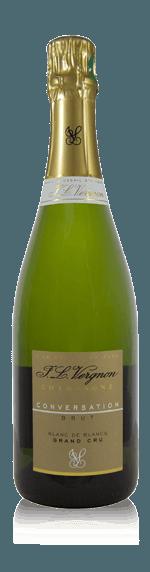 vin Champagne JL Vergnon Conversation Grand Cru Brut NV Chardonnay