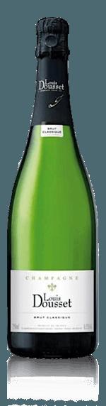 Champagne Louis Dousset Original Brut NV Pinot Noir 60% Pinot Noir, 40% Chardonnay Champagne