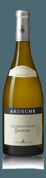 Chardonnay Terroir Gravettes Vignerons Ardechois 2015