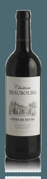 vin Château Beaubourg Côtes de Bourg 2015 Merlot