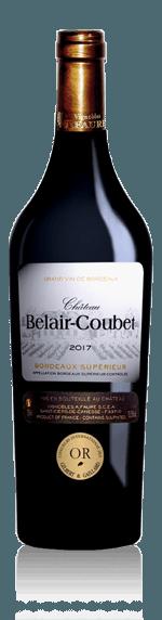 Château Belair-Coubet Bordeaux Superieur 2017 Merlot 65% Merlot, 35% Cabernet Sauvignon Bordeaux