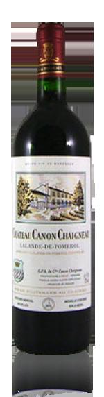 vin Château Canon Chaigneau Aoc Lalande De Pom 2002 Merlot