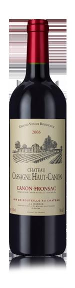 vin Château Cassagne Haut-Canon C-Fronsac 2006 Merlot