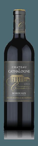 vin Château Cathalogne Bordeaux 2017 Merlot