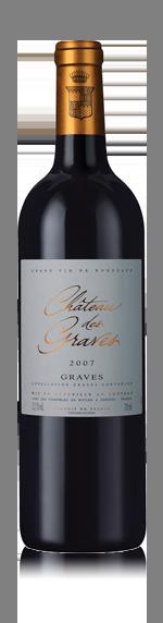 vin Château De Graves 2007 Merlot