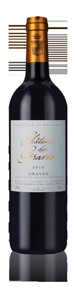 vin Château De Graves 2010 Merlot