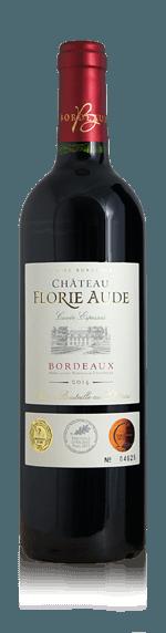 Château Florie Aude Red 2014 Merlot 85% Merlot, 15% Cabernet Sauvignon Bordeaux
