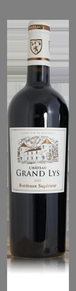 Château Grand Lys 2015 (i trälåda) Merlot 40% Merlot, 30% Cabernet Sauvignon, 30% Cabernet Franc Bordeaux