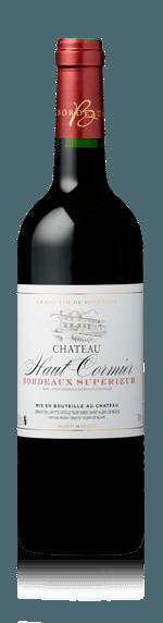 Chateau Haut Cormier 2015 (i trälåda) Merlot 95% Merlot, 5% Cabernet Sauvignon Bordeaux