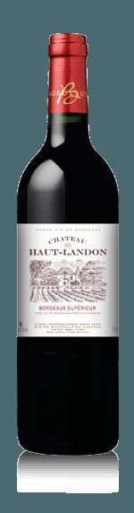 Chateau Haut Landon 2015 (i trälåda) Merlot 85% Merlot, 15% Cabernet-Sauvingnon Bordeaux