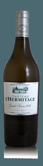 vin Chateau L´Hermitage Grande Reserve Graves Blanc 2016 Semillon