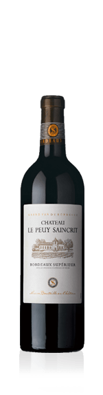 vin Château Le Peuy Saincrit Bordeaux Superieur 2016 (halvflaska) Merlot
