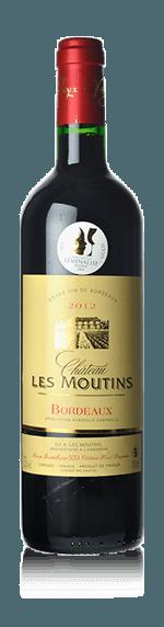 Château Les Moutins 2015 (i trälåda) Merlot 80% Merlot, 20% Cabernet Sauvignon Bordeaux